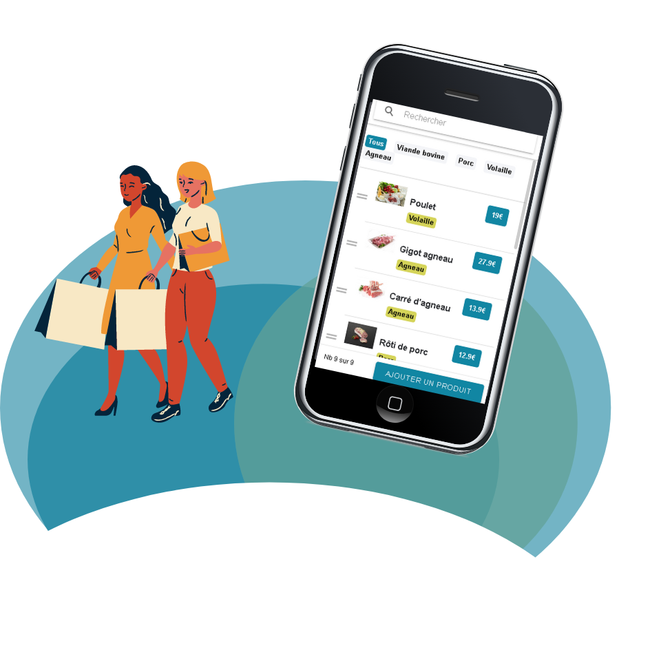 Application click and collect localdrivy